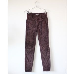 Free People Corduroy Skinny Pants 25